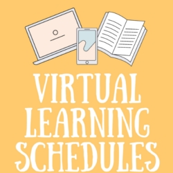 Distance/Virtual Learning Schedules Grades K-12