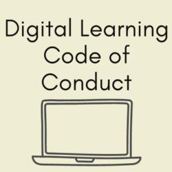 Digital Learning Student Code of Conduct