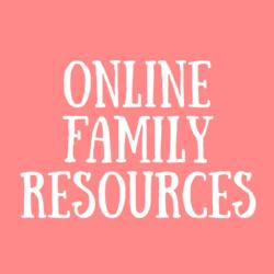 Online Family Resources